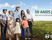 Campanha Família Cocamar - Institucional 50 anos