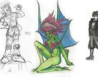 CRIAÇÃO DE PERSONAGENS - Character design