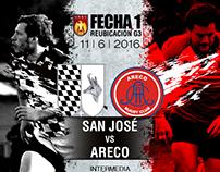 Placas de partido - San José Rugby