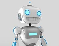 InfraGEEK Robot Mascote