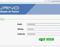 Sistema de turnos en ASPNET