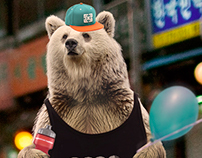 Bear in the city