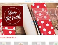 Tienda Steps On Faith