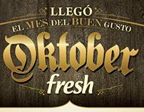 Campaña Oktober Fresh