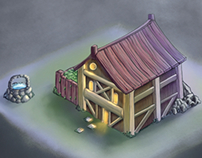 Shed concept art