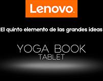 Campaña Lenovo YogaBook