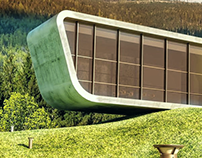 Renders de Arquitectura Orgánica.
