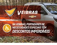 Deficiente Físico - Chevrolet Veibras