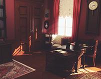 3d interior - Werner Von Siemens