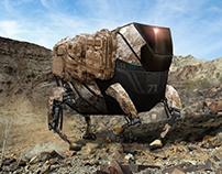 Cargo robot concept design