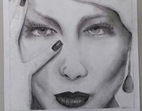 Desenhos artísticos_Rostos
