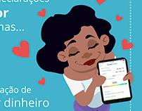 GUIABOLSO - freelance ilustração/infográficos