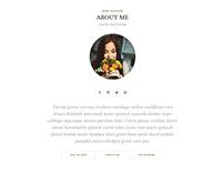 Blog Design - Hipster Look