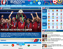 Eurocopa 2016 - Emol.com