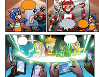 Combo Rangers [ Comic Pages ]