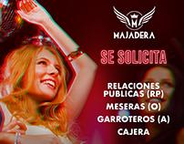 Publicidad Club Majadera Queretaro