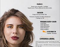 CV/ Daniela Gómez