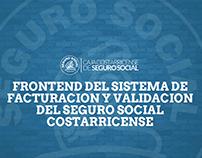 FrontEnd Seguro Social Costa Rica