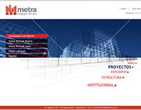 Web Metra boceto.