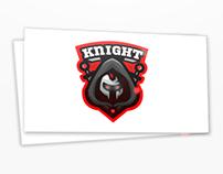 Deadly warrior mascot logo.