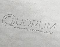 Quorum Arquitectura y Construcción - Branding