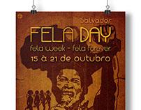 Fela Day Salvador - Cartaz