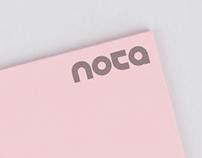 Nota Logo Design