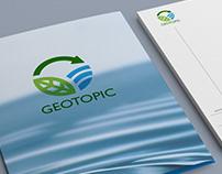 Geotopic, logo design
