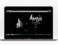 "Website ""Amnesia, the dark descent"""