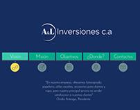 A&L Invesiones c.a, Web Design