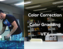 Breakdown Color Correction / VFX