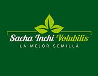Logo Sacha, para producto de consumo