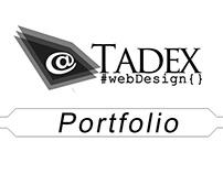 Portfolio of Tadex web design