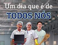 Campanha de Endomarketing   Dia do Trabalhador