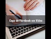 Capa de Facebook em Vídeo
