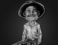 Caricatura para totem de aniversário - Digital Art