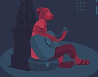 The Dog Guitarist