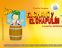 "McDonalds Chile - Licencia "" El Chavo """