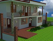 Casa patio interno
