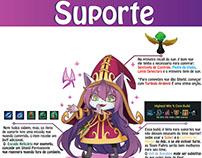 Infografico ''Dicas de sup League of legends''