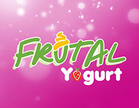Diseño Menu Luminoso Frutal Yogurt - Frozen Yogurt