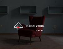 Brand identity Tendenza Design