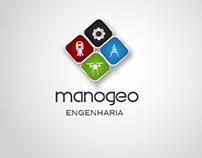 Proposta de identidade visual Manogeo.