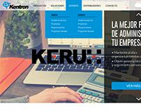 KENTRON: Página web