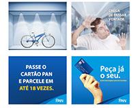 Campanhas Digitais para o Cliente Banco Pan / Kwarup