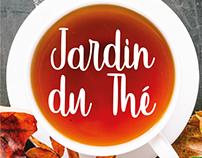 DG: Le Jardin du Thé - Projeto de identidade visual