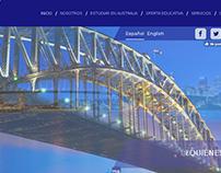 Sitio web informativo