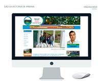 Web Municipio La Victoria de Imbana