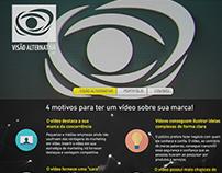 Criação de Site - Visão Alternativa Filmes