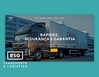 RSG transporte e logística - Website